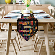 Load image into Gallery viewer, Contemporary Africa Placemats And Table Banner (Sold Separately)