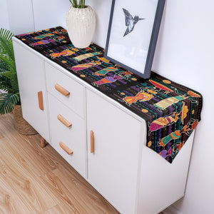 Contemporary Africa Placemats And Table Banner (Sold Separately)