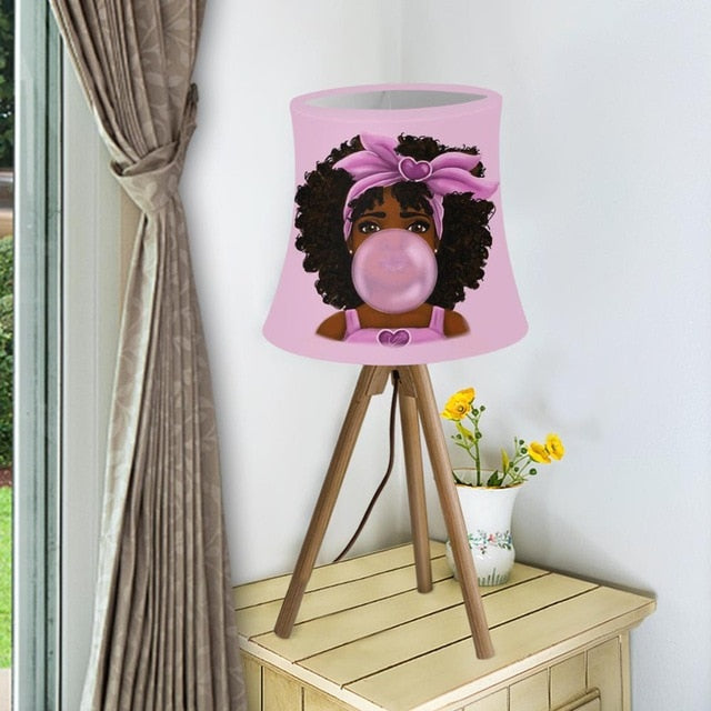 Bubble Gum Toddler Nursery Collection Lampshade with Metal Frame
