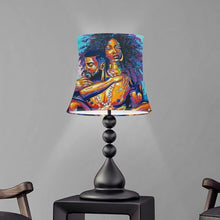 Load image into Gallery viewer, Melanin Royalty Castle Collection Lampshade With Metal Frame