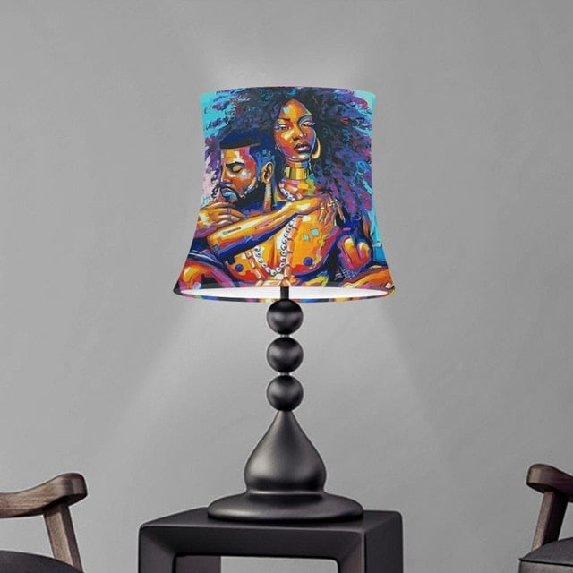 Melanin Royalty Castle Collection Lampshade With Metal Frame