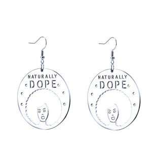 Naturally Dope Stainless Steel Earrings