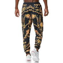 Load image into Gallery viewer, Urban Decay Black Gold Fashion Joggers