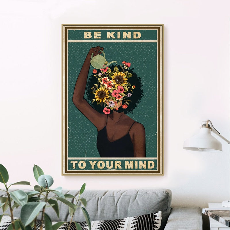 Mind Watering Canvas Poster