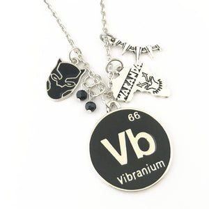 Vibranium Wakanda Black Panther Custom Necklace