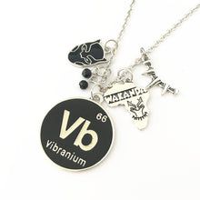 Load image into Gallery viewer, Vibranium Wakanda Black Panther Custom Necklace
