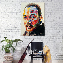 Load image into Gallery viewer, Contemporary MLK Canvas Poster