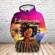 Load image into Gallery viewer, Phenomenal Woman Tribute Hoodie