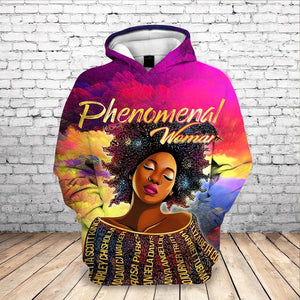 Phenomenal Woman Tribute Hoodie