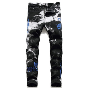 Black King Love Royalty Jeans