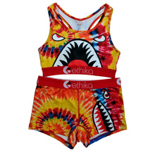 Load image into Gallery viewer, Tie Dye Shark Exclusive Sports Fit Set