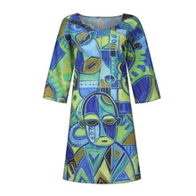 Load image into Gallery viewer, Melanin Summer 2021 Comfort Cookout Mini Dress with Pockets