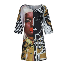 Load image into Gallery viewer, Melanin Summer 2021 Cookout Comfort Mini Dress