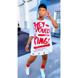 "Would Be Kings ""Kings Summer 2021"" Tshirt Mini Dress"