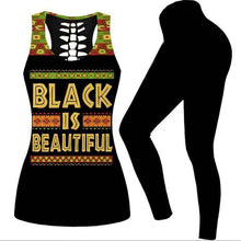 Load image into Gallery viewer, Black is Beautiful Sports Fit Set
