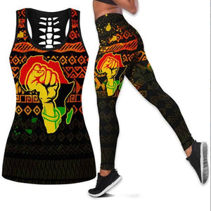 Black Power Sports Fit Set