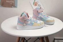 Load image into Gallery viewer, Break the Habit, Break the System Hightop Fairy Unicorn Sneakers