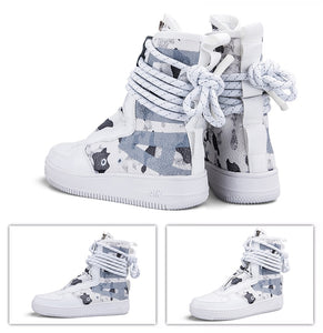 Air Strapped Secure Super High Top Sneaker Boots