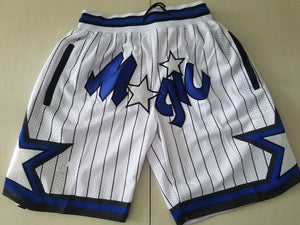 Magic Summer Basketball Shorts with Pockets