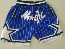 Load image into Gallery viewer, Magic Summer Basketball Shorts with Pockets