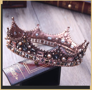 Royal Ball/Groom Royalty Custom Fashion Crown