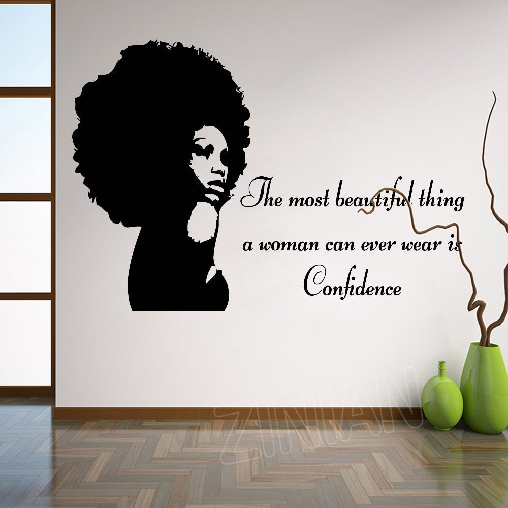 Confidence Large Wall Vinyl