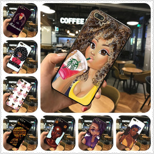#BlackGirlMagic Phone Case For Iphone 7 8 XS XR XSMAX and Samsungs7 s8 s9