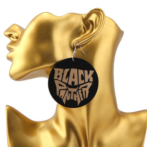 Black Panther Earrings