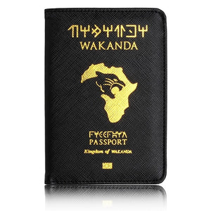 Wakanda Passport Holder