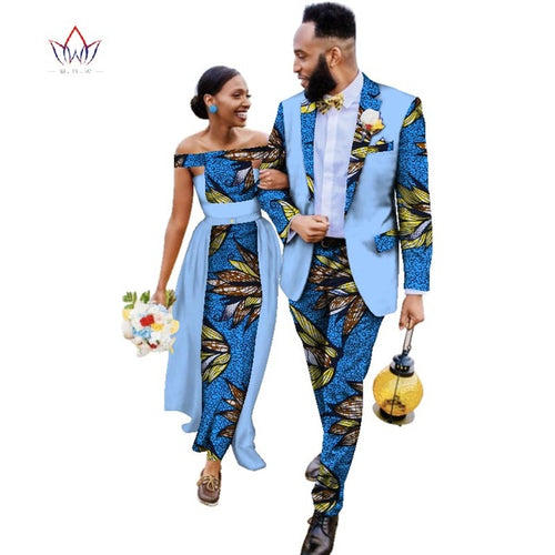 Melanin Royalty Couples King and Queen Matching Formal Sets
