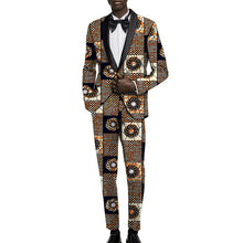 Load image into Gallery viewer, Dapper Ankara Prince Suit (Order 2 sizes larger than usual)