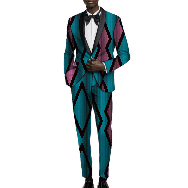 Prince Dakar Event Tuxedo (Order 2 sizes larger than usual)