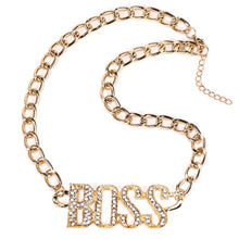 Load image into Gallery viewer, Boss Chick Jewelry set (Gold or Silver Plated)