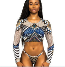 Load image into Gallery viewer, Tahira Bohemian Chic 2 Piece Swimsuit