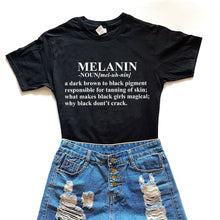 Load image into Gallery viewer, Melanin Defined Tshirt
