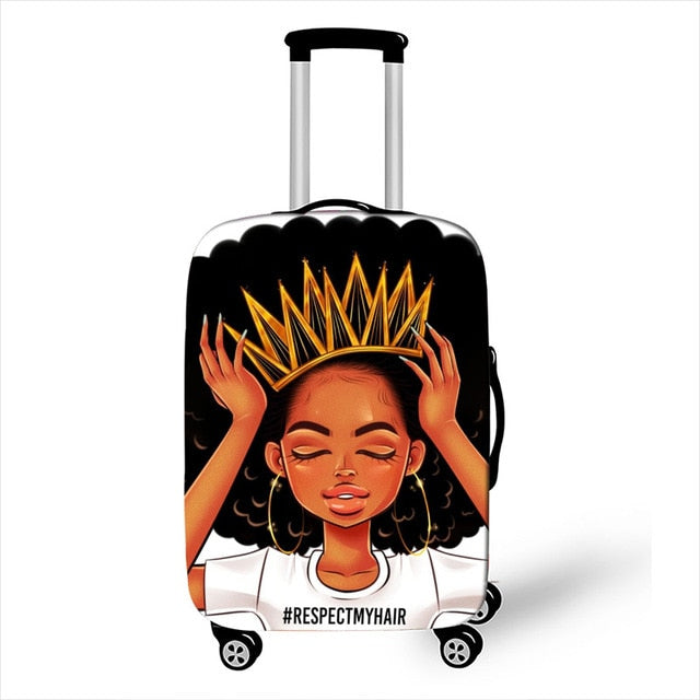 Natural Hair Daily Luggage Cover Collection