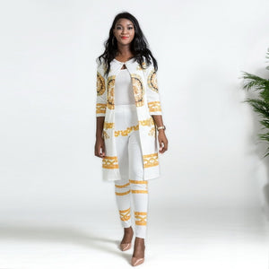 Afro-Indian Salwar Fashion Royalty Suit