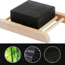 Load image into Gallery viewer, Premium Deep-Cleaning, Oil Removing Charcoal Black Soap