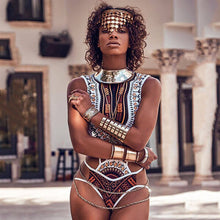 Load image into Gallery viewer, Queen of the Nile Fashion Swimsuit