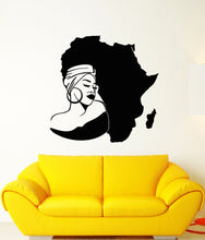Load image into Gallery viewer, Natural Hair Africa Home/Salon Wall Vinyl