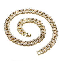 Load image into Gallery viewer, Cuban Chain (Gold or Silver Plated)