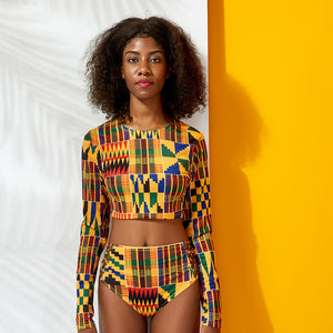Fashion #BlackTravelMovement Dashiki Travel Swimwear