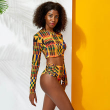 Load image into Gallery viewer, Royalty #BlackCouplesTravel Women's Beach Set (visit men's section for Men's Beach Shorts)