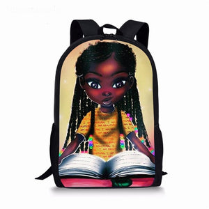 Melanated Beauty & Excellence School Bags