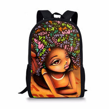 Load image into Gallery viewer, Melanated Beauty & Excellence School Bags