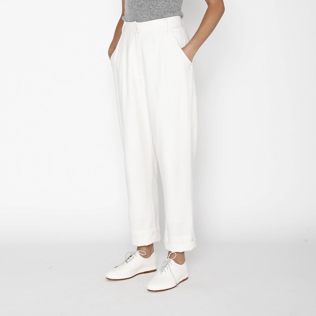 Painter Wool Trouser - Off-White