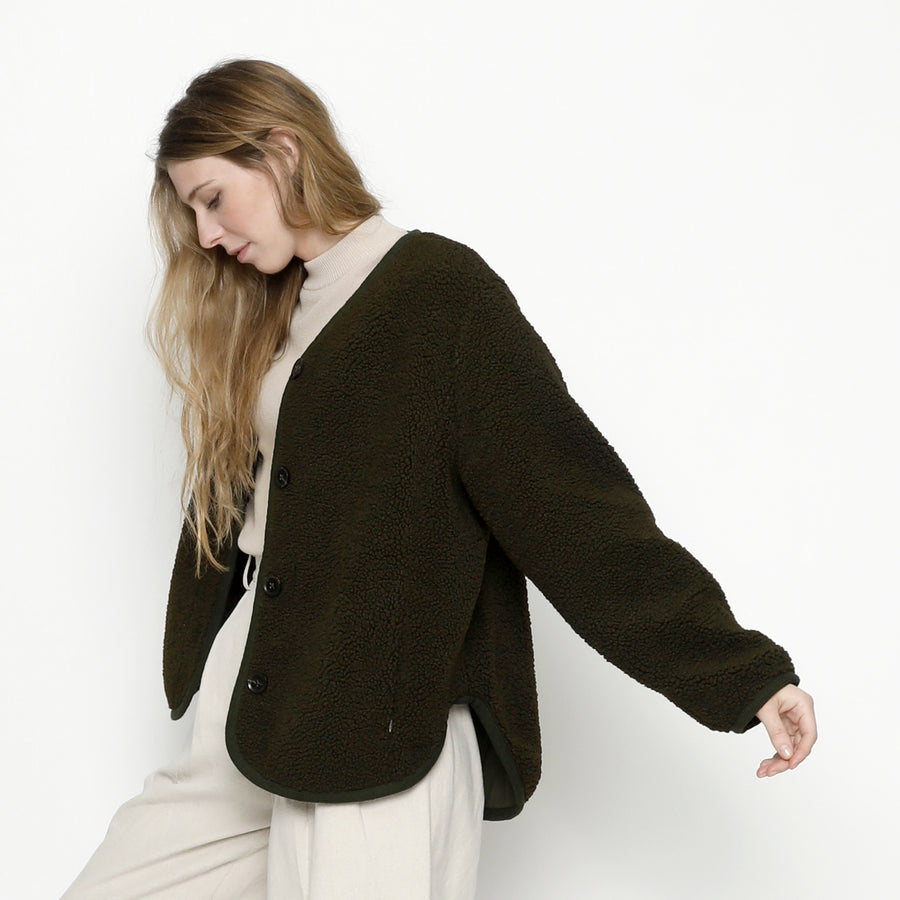 Curly Jacket FW20 - Olive