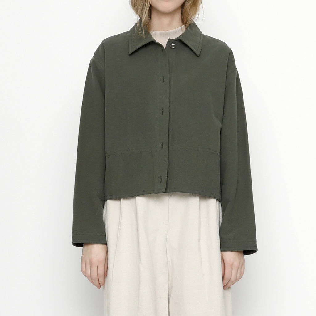 Canvas Shirt Jacket - FW20 - Ranger Green