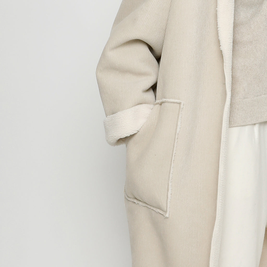 Corduroy Fleece Coat - FW20