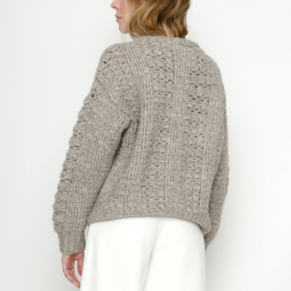 Hand Crocheted Lantern Sweater - FW20